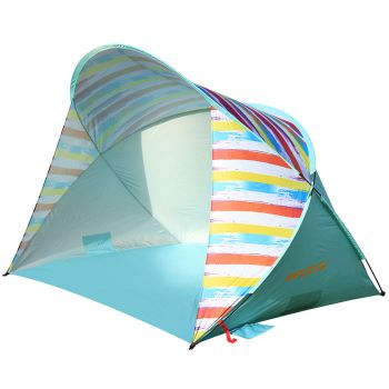 WEJOY 3-4 Persons Pop-up UPF 50+ Beach Tent Sun Shelter WT2001