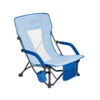 WEJOY Portable Stable Folding Mesh Back BeachChair WF1006