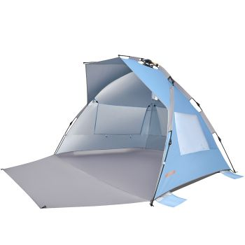 WEJOY Pop-up Instant Beach Shelter UPF50+