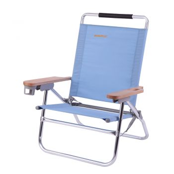 WeJoy Folding Chair 4-Position Lightweight Portable Stable Heavy Duty WF1004